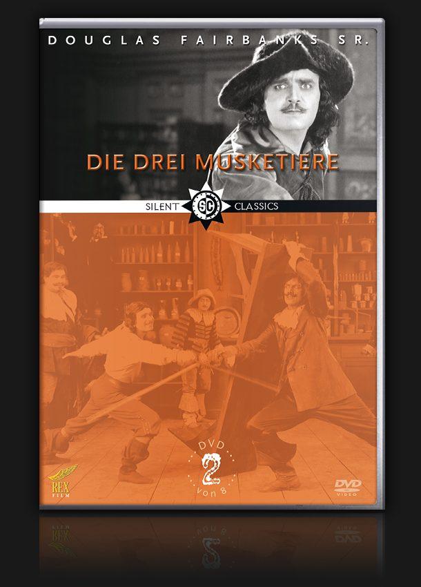 Douglas Fairbanks Collection – Vol. 2 – Die drei Musketiere