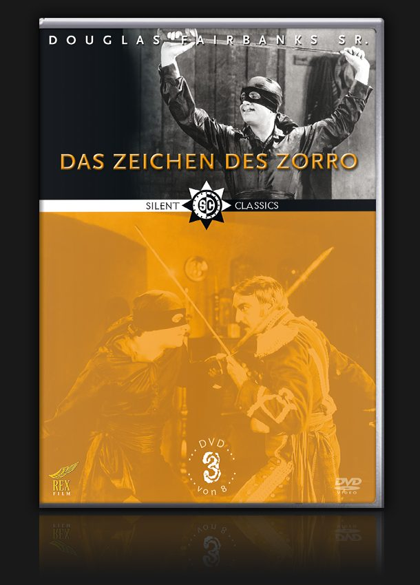 Douglas Fairbanks Collection – Vol. 3 – Das Zeichen des Zorro