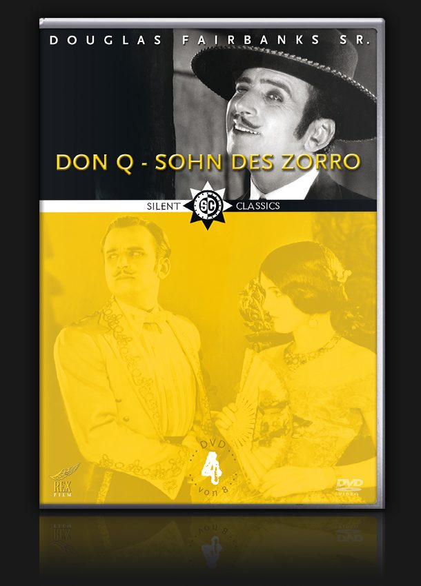 Douglas Fairbanks Collection – Vol. 4 – Don Q – Sohn des Zorro