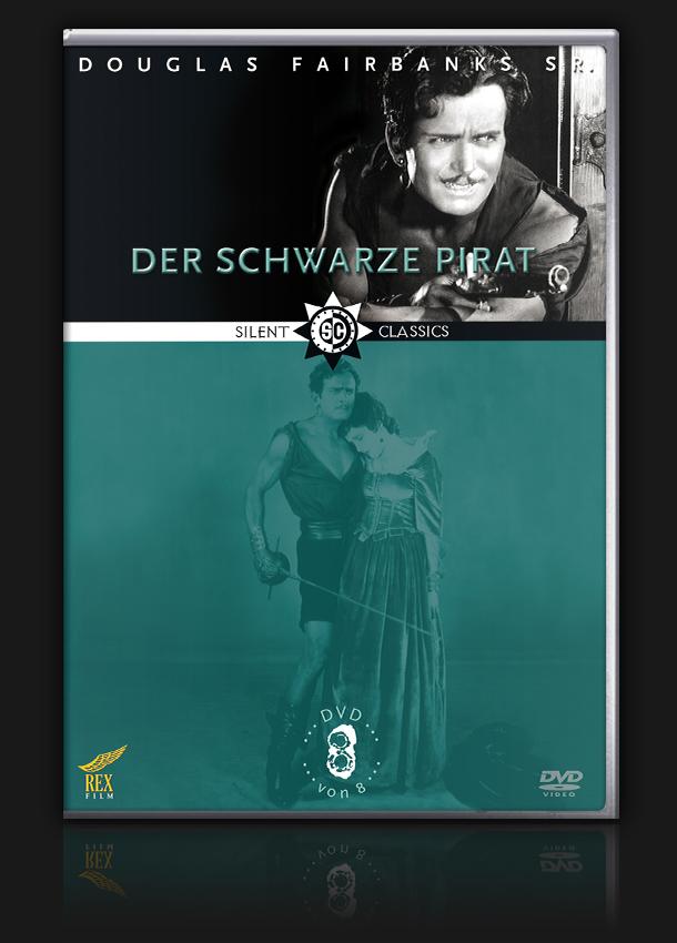 Douglas Fairbanks Collection – Vol. 8 – Der schwarze Pirat